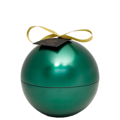 SOY CANDLE - 110 GR  - CHRISTMAS BALL - GREEN