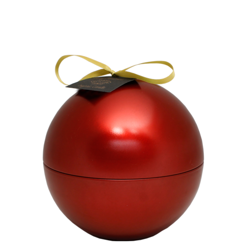 SOY CANDLE - 110 GR - CHRISTMAS BALL -  RED