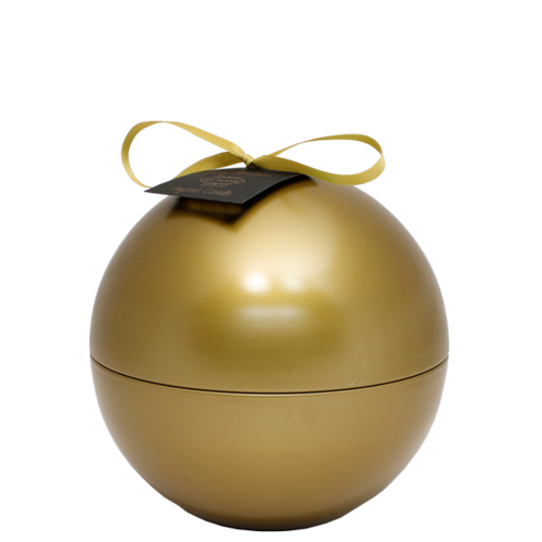 SOY CANDLE - 110 GR  CHRISTMAS BALL - GOLD