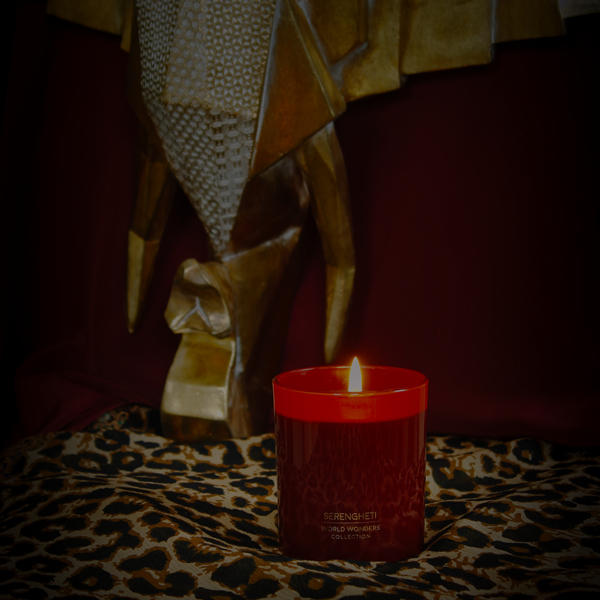 My Flame Lifestyle SOY CANDLE 410 GR. - WORLD WONDERS - SERENGHETI