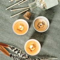 My Flame Lifestyle SURPRISE CANDLES - ROCK, AMAZING, GOLD - FRESH COTTON