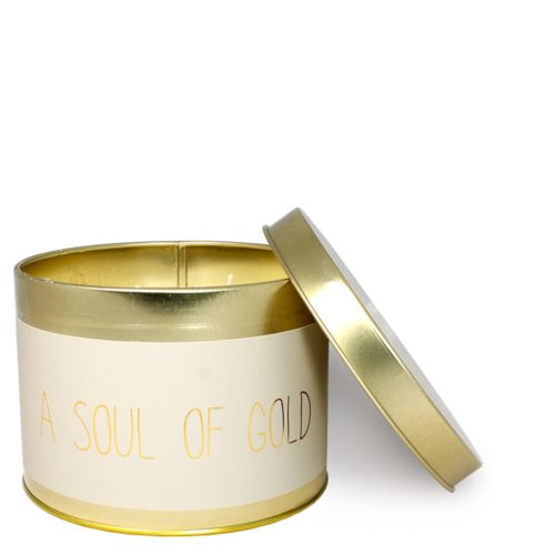SOY CANDLE  XL - SOUL OF GOLD