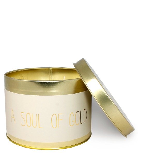 My Flame Lifestyle SOJAKAARS  XL - SOUL OF GOLD - GEUR: FIG'S DELIGHT