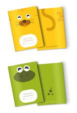 Heen en weer boekjes schriftjes voor kinderopvang 10 stuks