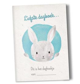 Heen en weer boek baby - konijn
