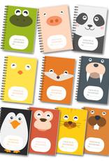 Heen en weer boekjes oppasboekjes voor kinderopvang - kies zelf je dier