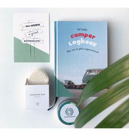 Cadeauset - camperboek  shampoobar & blikje
