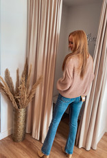 Pullover V-neck - Pink