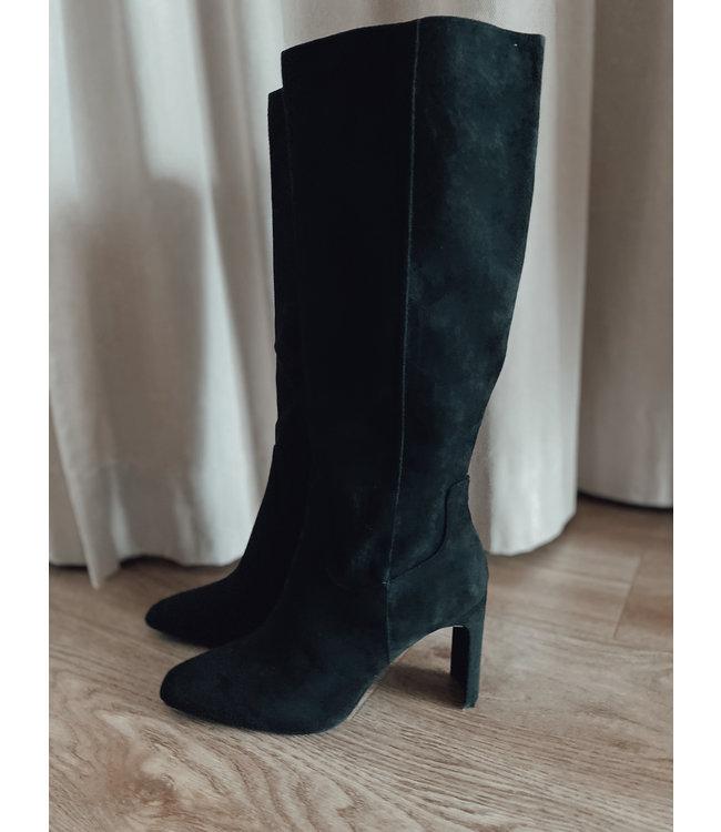 Heeled Boots - Black
