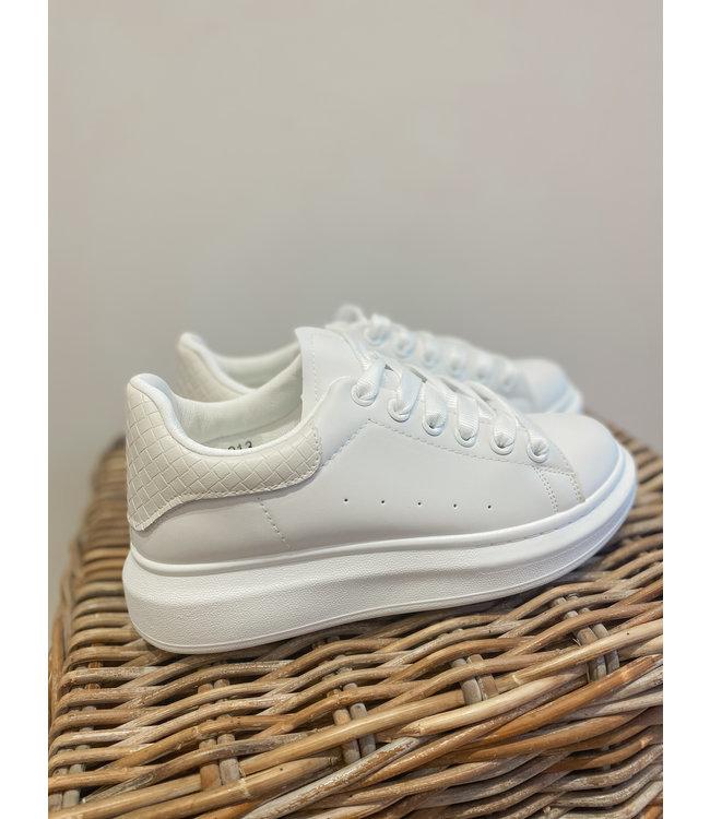 Sneaker - White/Beige