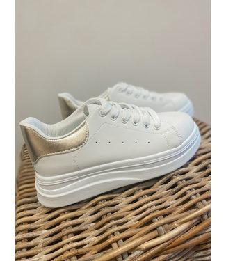 Sneaker White/Gold