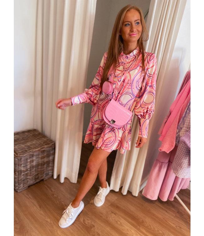 Colorful Dress/Tunic - Pink/Lilac