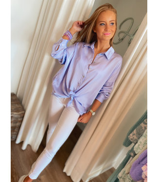 Silky Blouse - Lilac