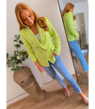 Blazer - Flashy Green