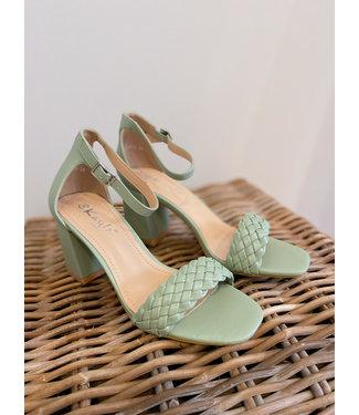 Heeled Sandal  - Mint