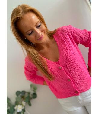 Knit Set - Fuchsia