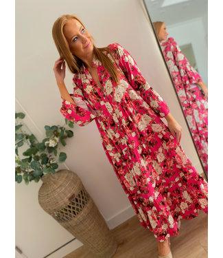 Maxi Roses Dress