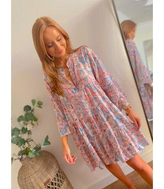 Printed Dress - Pastel Colors
