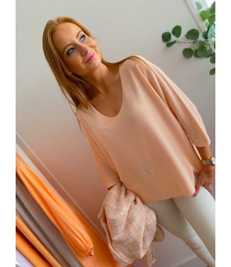 Pullover - Peach