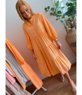 Long Dress - Peach