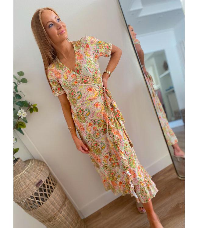 Printed Color Dress