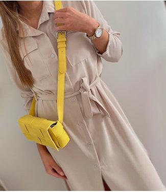 Mini Cross Body Bag - Yellow