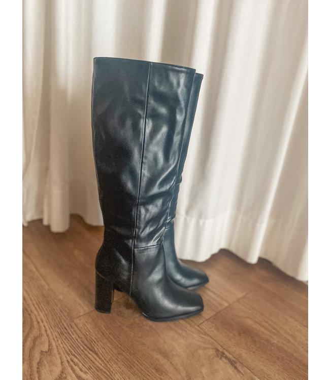 Heeled Boot - Black