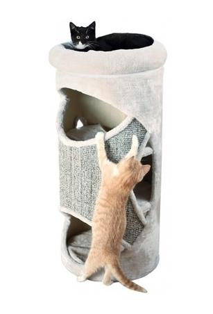 Krabton voor katten met drie verdiepingen.