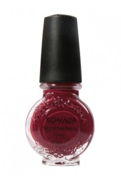 Konad Stamping Lack Dark Red
