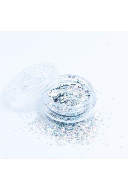 Hexagon mini Silber