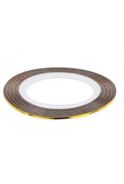 Pinstripes 1mm - Gold