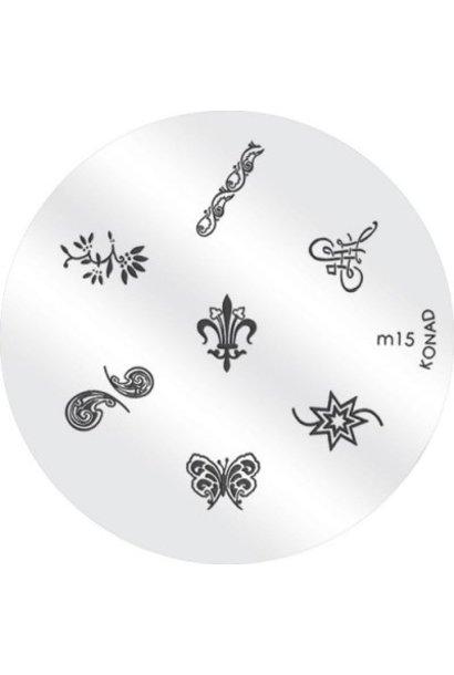 Konad Image Plate M15