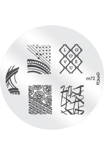Konad Image Plate M72