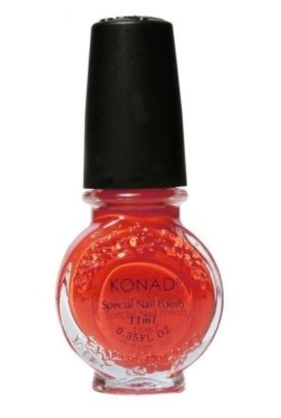 Konad Stamping Lack Dark Orange
