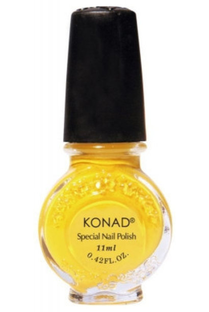 Konad Stamping Lack Yellow