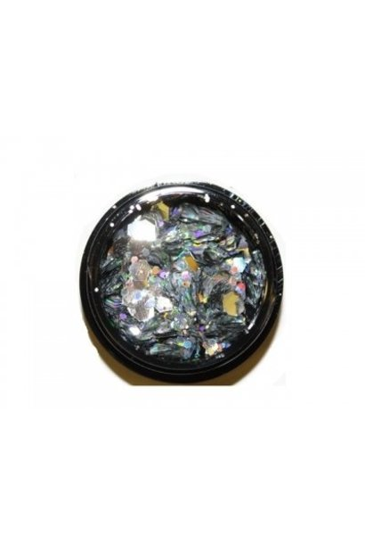 Hexagon Mix Silver