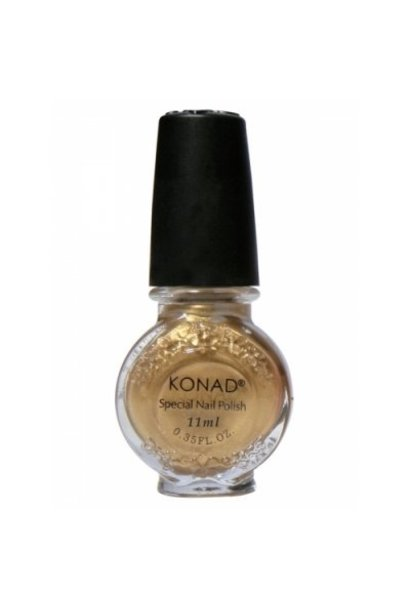 Konad Stamping Lack Powdery Gold