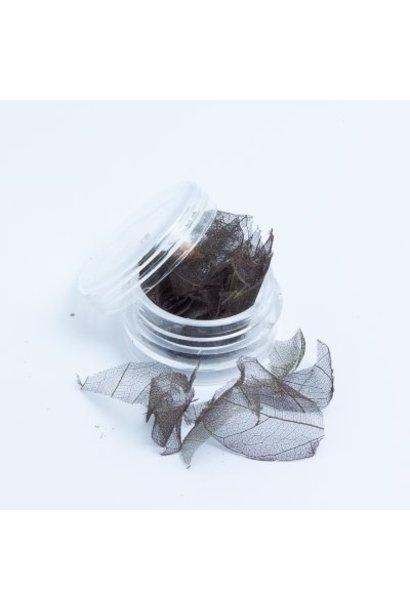 Skalett Blätter Grau