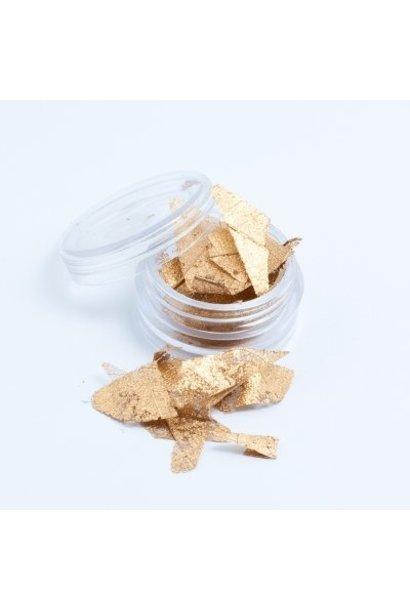 Skalett Blätter Gold