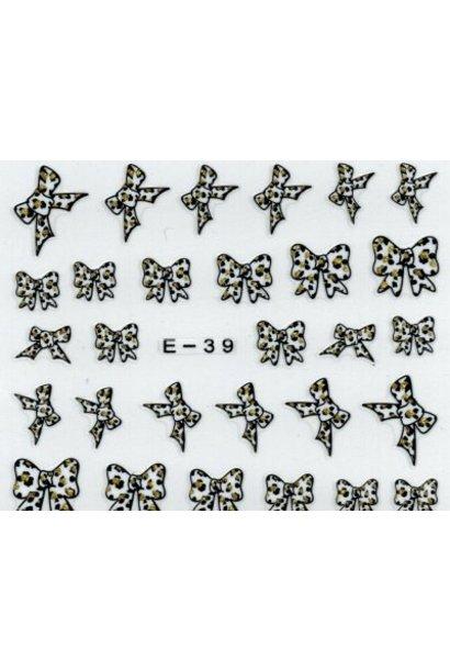 NailArt Sticker E-39