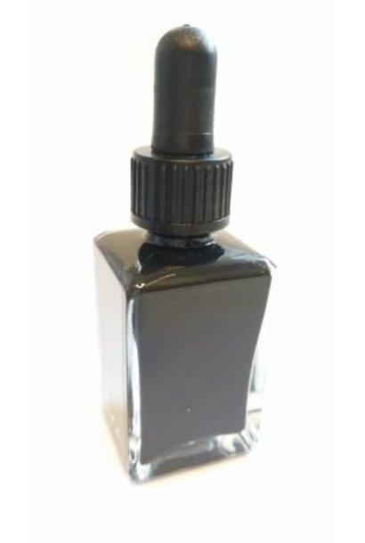 Spezial Malfarbe für NailArt 30ml | Schwarz