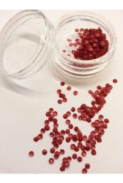 3D Kreise Rot