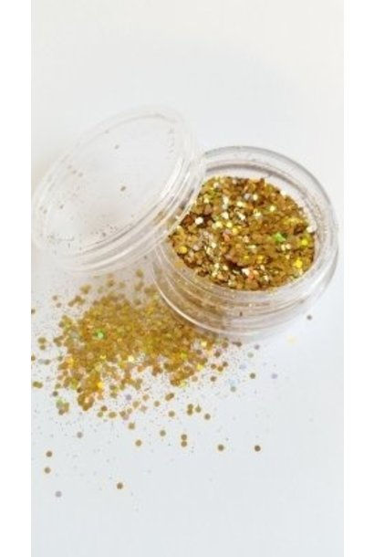 Illusion Glitter Gold