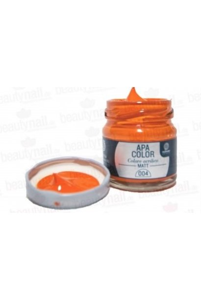 "Acrylfarbe APA Color Orange"" von Ferrario 40ml"""
