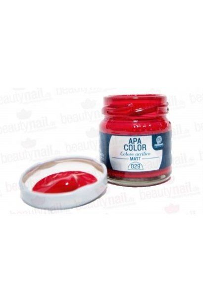 Acrylfarbe APA Color Rubinrot von Ferrario 40ml