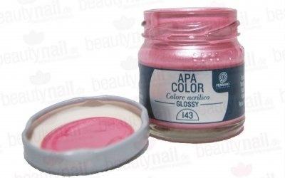 "Acrylfarbe APA Color Metallrosa"" von Ferrario 40ml""-1"
