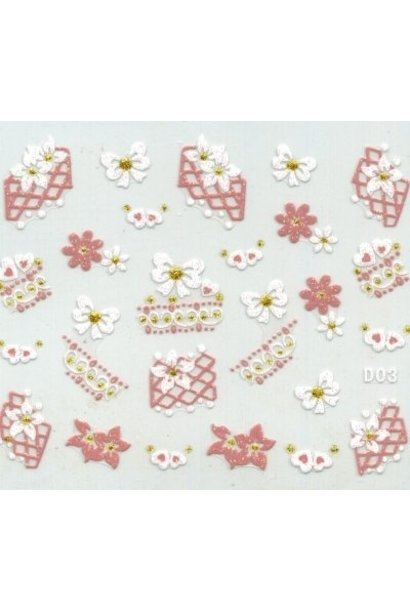 NailArt Sticker D03
