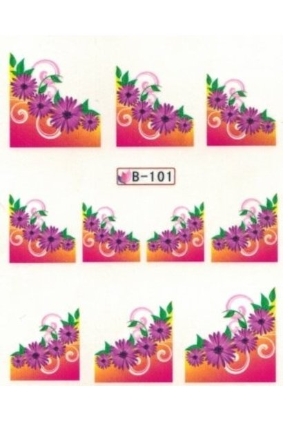 Nailart Sticker B-101