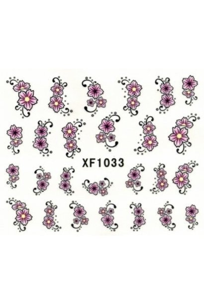 NailArt Sticker XF1033 - BeautyNail