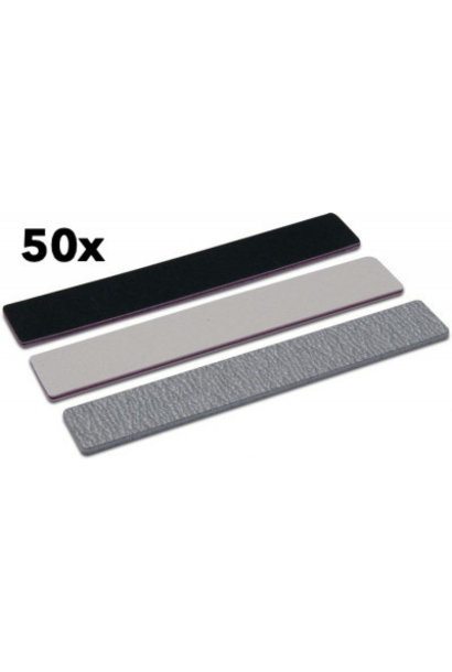 50 stk. Mega Feile 100/180 - erhältlich in 3 vers. Farben